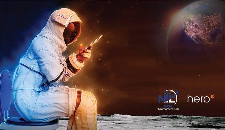 Nasa vai dar prêmio de US$ 35 mil para quem criar um banheiro lunar