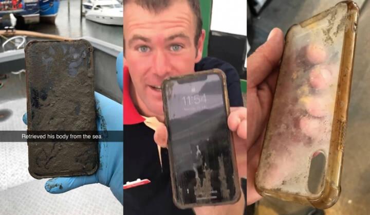 iPhone X perdido no mar é encontrado após seis dias e ainda funciona