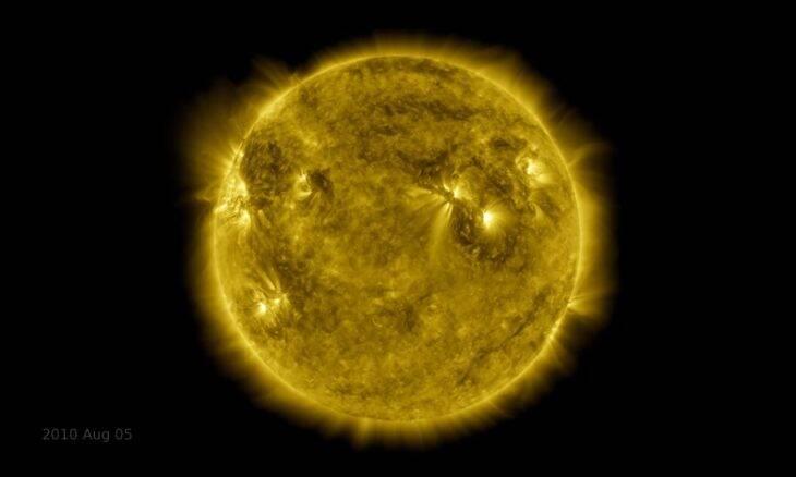 Vídeo da Nasa mostra dez anos de atividade do Sol