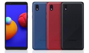Samsung lança Galaxy A01 Core no Brasil