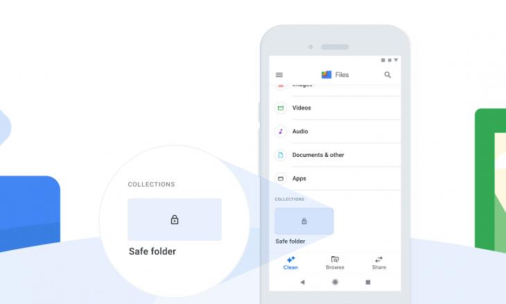 Google Files ganha opção de pasta segura com senha