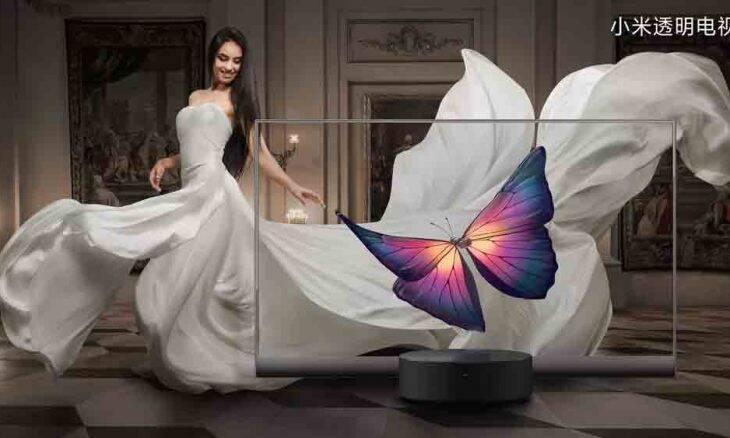Xiaomi anuncia TV OLED com tela transparente por quase R$ 40 mil. Foto: Divulgação