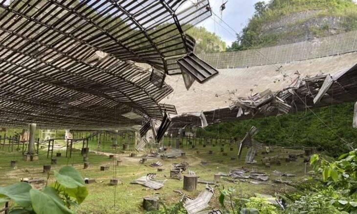 Parte de radiotelescópio que busca vida extraterrestre foi misteriosamente destruído
