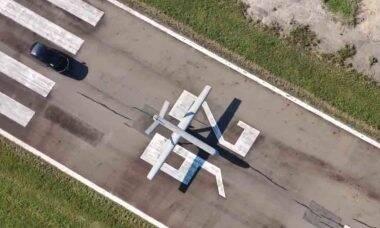Stella Tecnologia lança drone militar estratégico Atobá. Foto: Reprodução Youtube