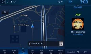 Central multimídia da Ford vai exibir preços do combustível em tempo real