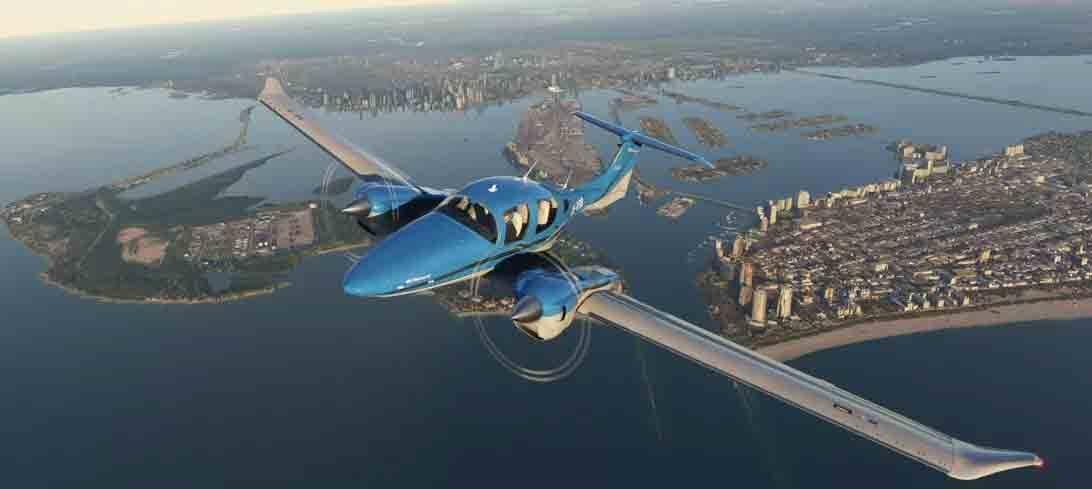 Microsoft Flight Simulator vai gerar mais de R$ 14 bilhões de vendas em hardware. Foto: Divulgação