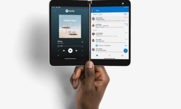 Microsoft revela o celular de tela dupla Surface Duo