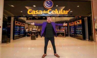 Conheça Darlan Almeida: influenciador e CEO da Casa do Celular que se tornou referência no setor digital nacional. Foto: Divulgação
