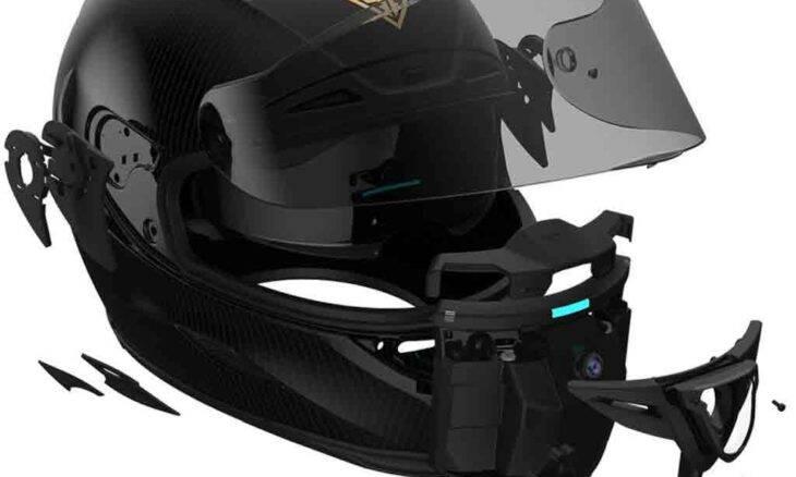 Forcite MK1, um capacete inteligente de R$ 8,4 mil que ajuda a detectar radares de velocidade