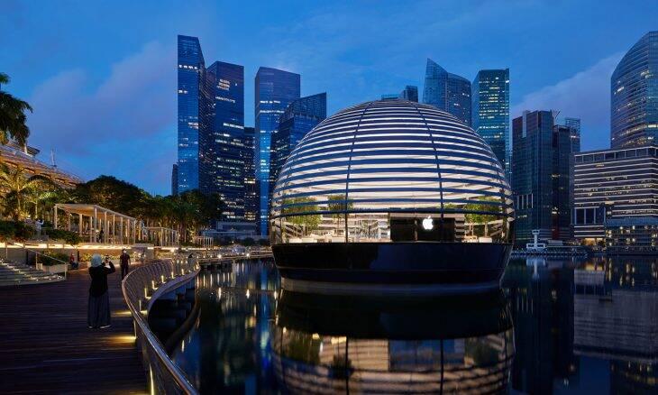 Apple vai abrir loja flutuante em Singapura