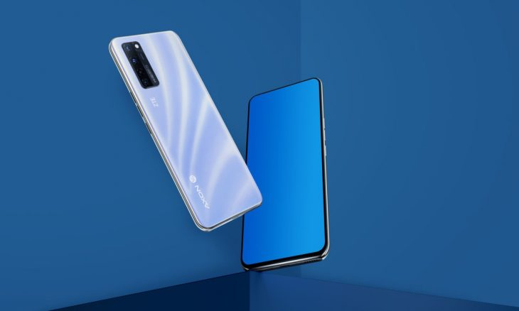 ZTE lança primeiro smartphone com câmera sob a tela