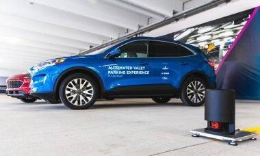 Ford e Bosch testam sistema de manobrista automatizado