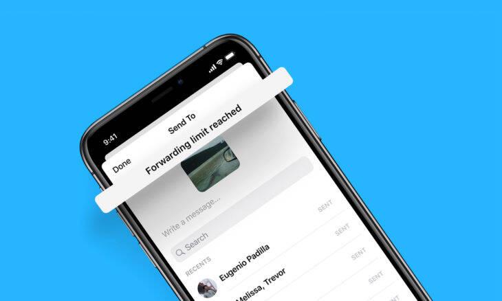 Facebook Messenger vai limitar reenvio de mensagens