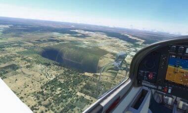 Buraco gigante no Flight Simulator fica no Brasil