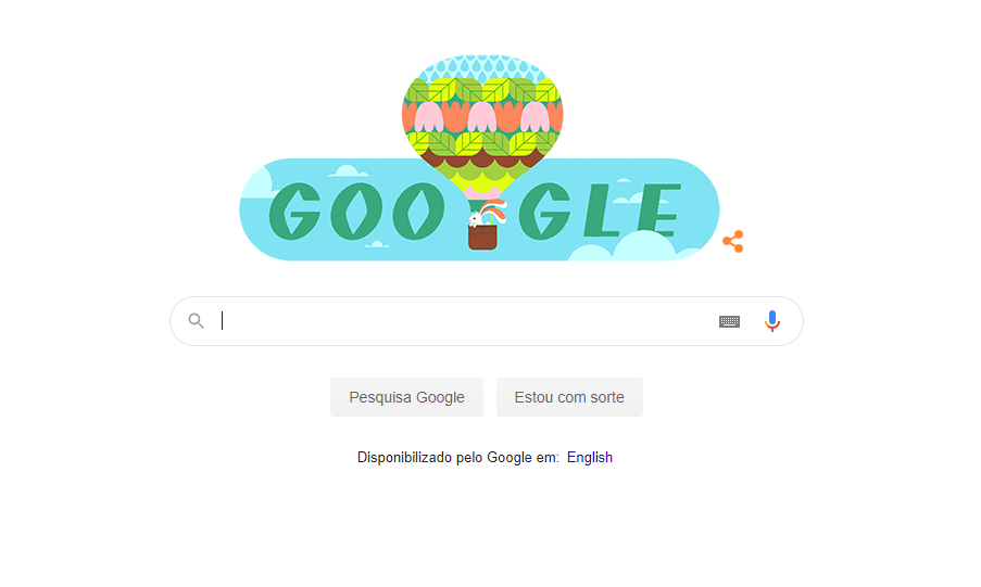 Google comemora a chegada a Primavera com Doodle