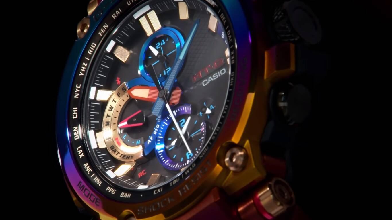 Casio lança relógio G-Shock inspirado nos relâmpagos vulcânicos