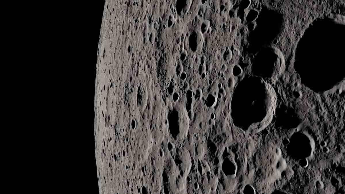 Nasa recria em 4K imagens da Lua vistas pelos astronautas da Apollo 13. Foto: Reprodução