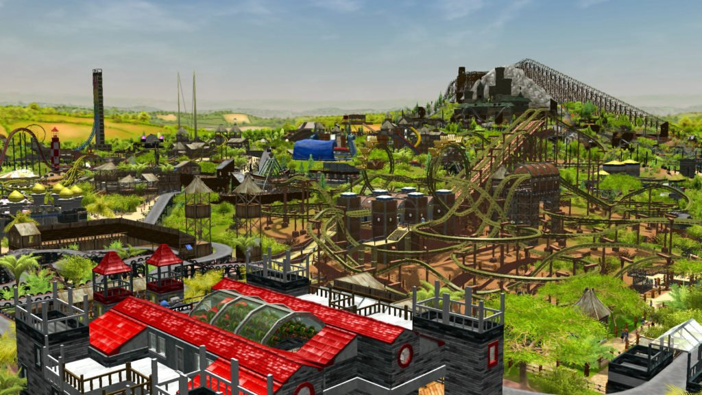 """RollerCoaster Tycoon 3 Complete Edition"" gratuito na Epic Games"