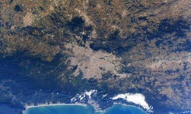 Astronauta tira fotos de São Paulo e Amazônia do espaço