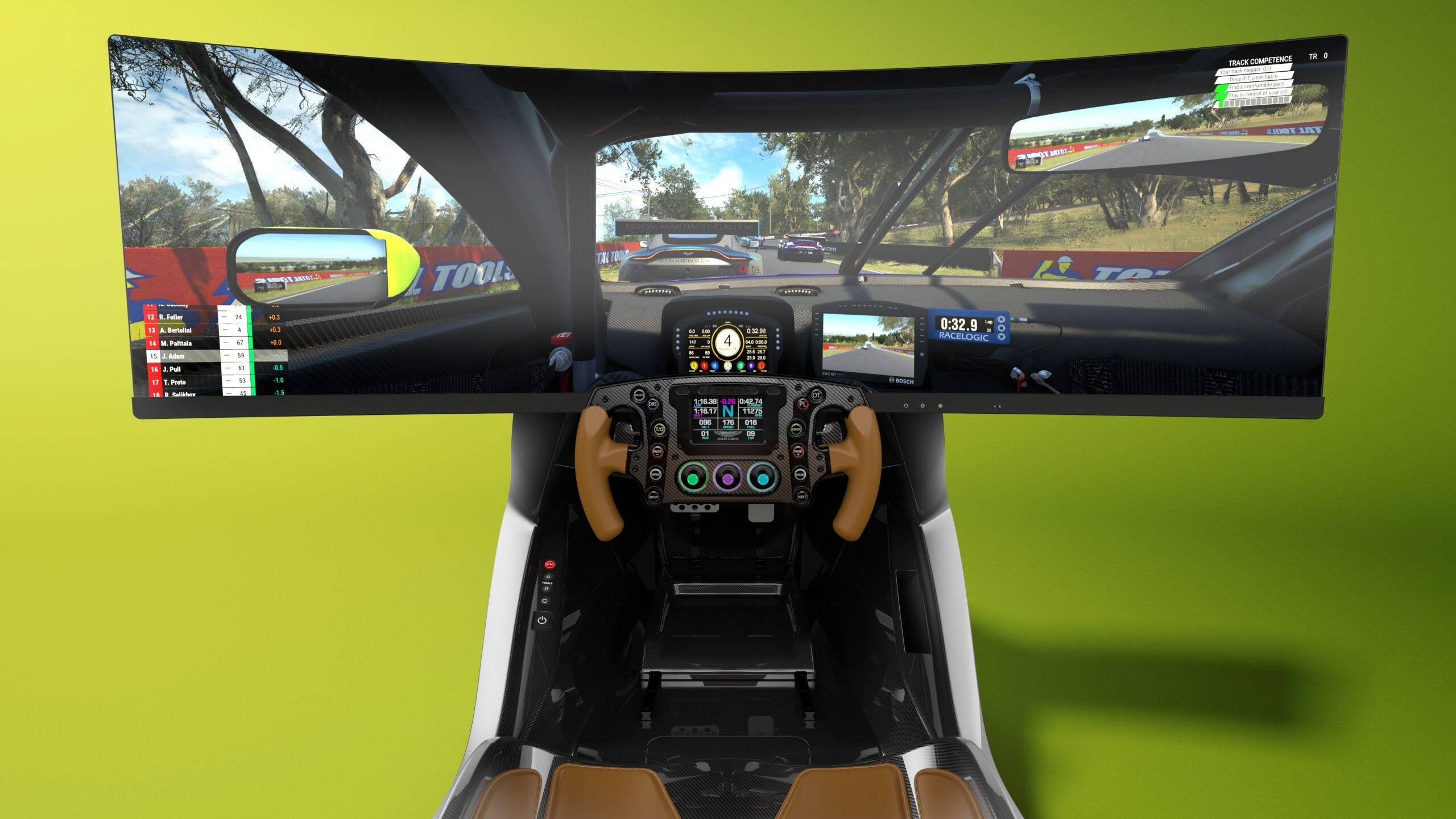 Simulador da Aston Martin tem preço de carro esportivo de verdade