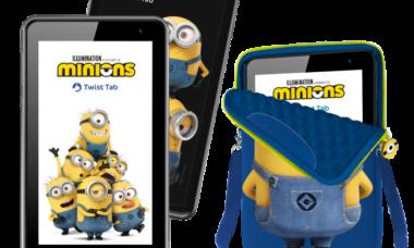 Positivo lança tablet infantil dos Minions