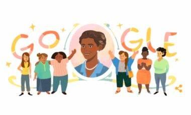 Google homenageia Laudelina de Campos Melo, ativista e pioneira do sindicato de trabalhadores domésticos no Brasil. Foto: Reprodução/ Google