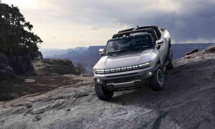 GM apresenta picape 100% elétrica com potência estimada de 1.000 cv: HUMMER EV. Foto: Divulgação