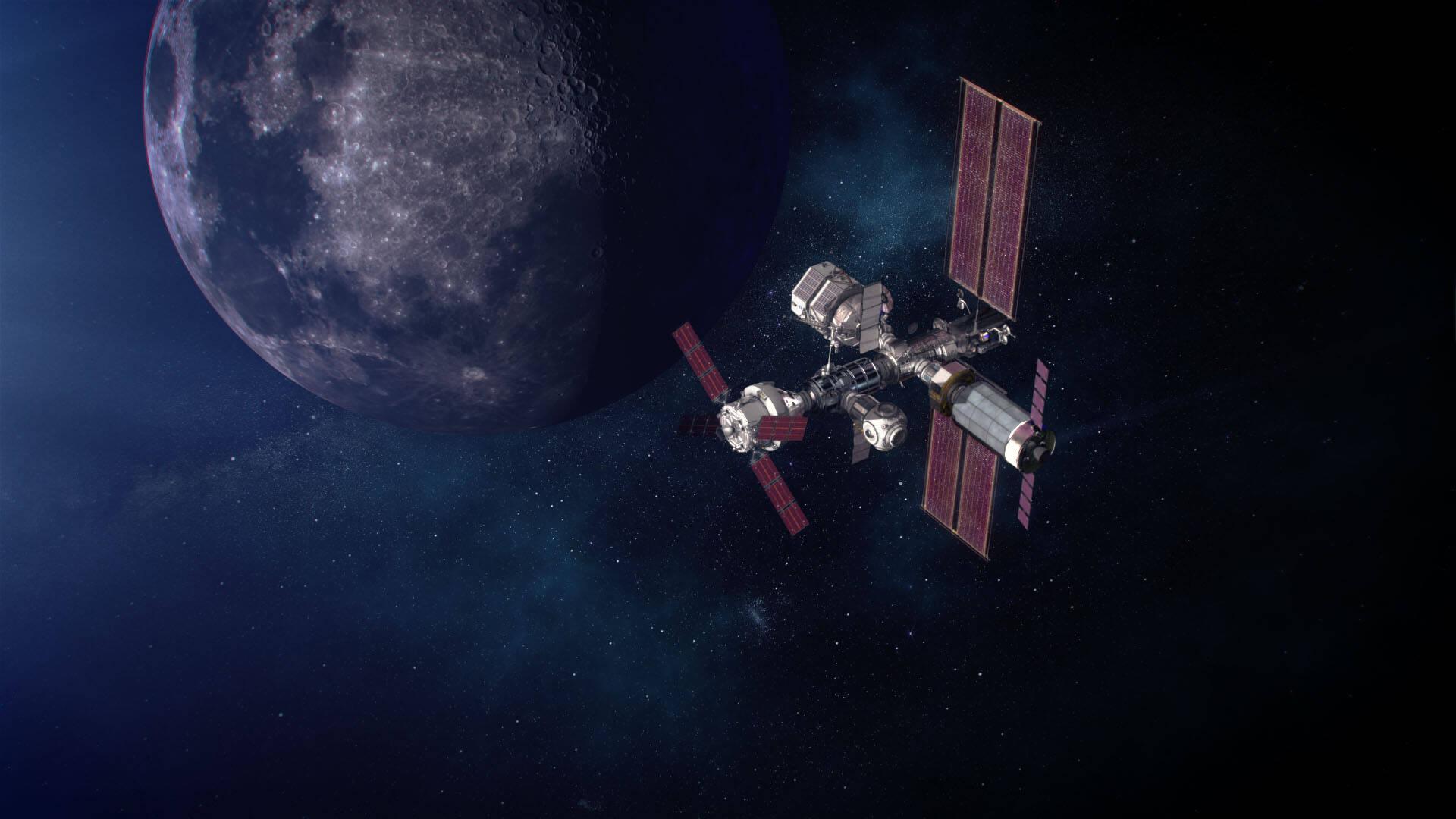 Europa vai colaborar com a Nasa para construir estação espacial na Lua
