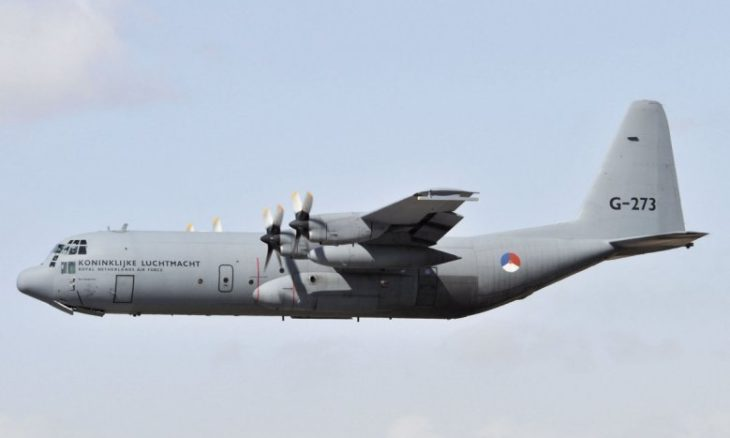 Holanda vai desativar frota de C-130 Hercules a partir de 2021