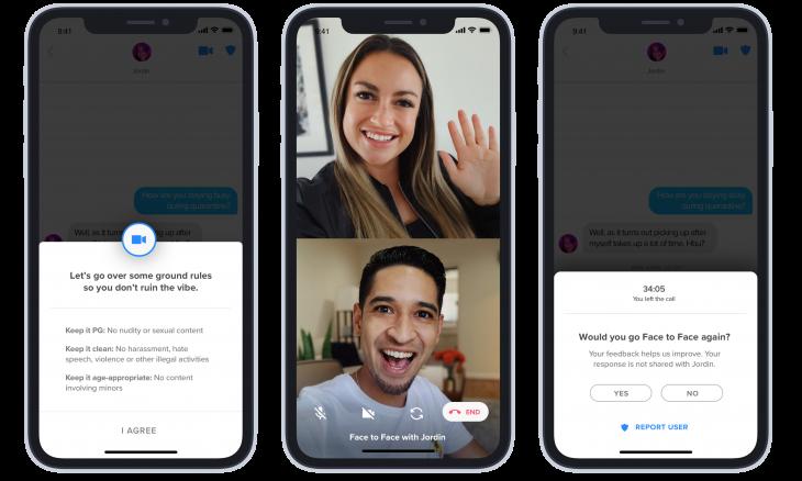 Tinder libera conversa por vídeo no app