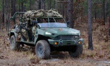 GM entrega primeiros ISV para o Exército dos EUA
