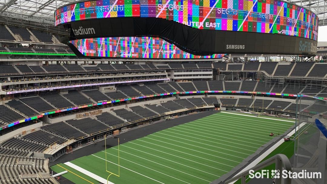 Samsung revela o maior telão de estádio do mundo