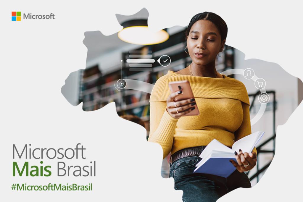 Microsoft anuncia parceria com governo federal para facilitar busca por emprego