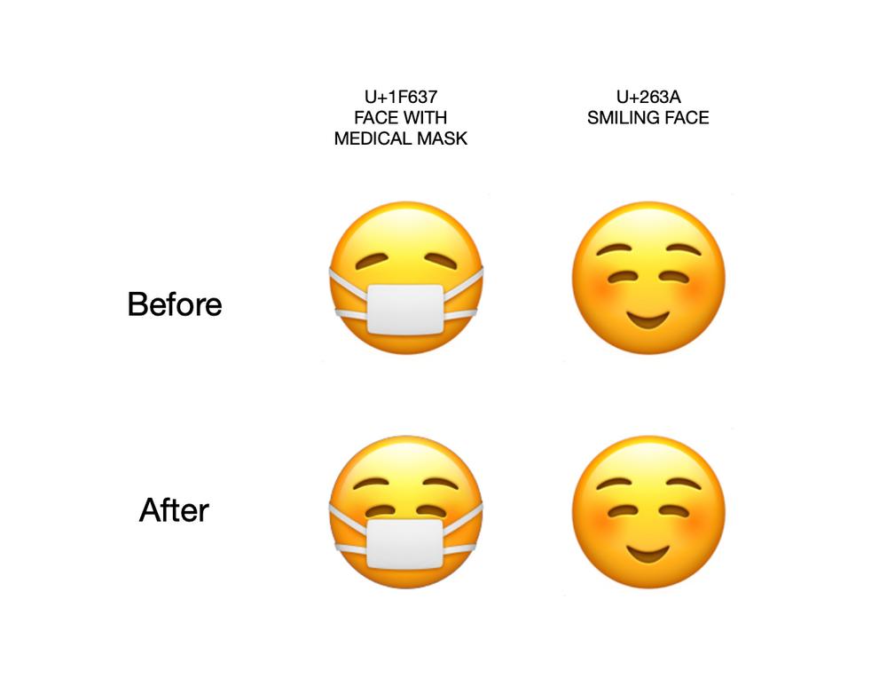 """Emoji de máscara do iOS 14.2 se adequa ao """"novo normal"""""""