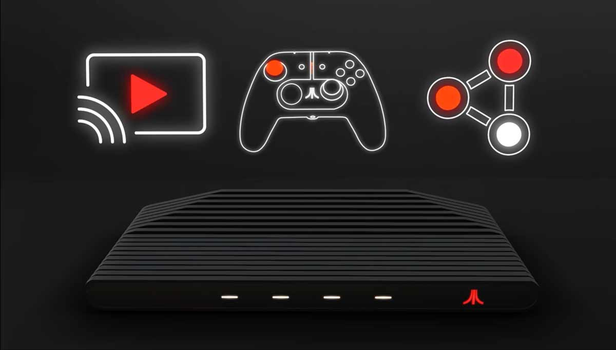 O que você precisa saber sobre a novo e misterioso console da Atari. Foto: reprodução Youtube