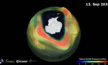 Buraco na camada de ozônio é um dos maiores dos últimos anos