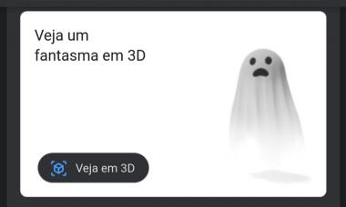 Google libera figuras de Halloween em 3D