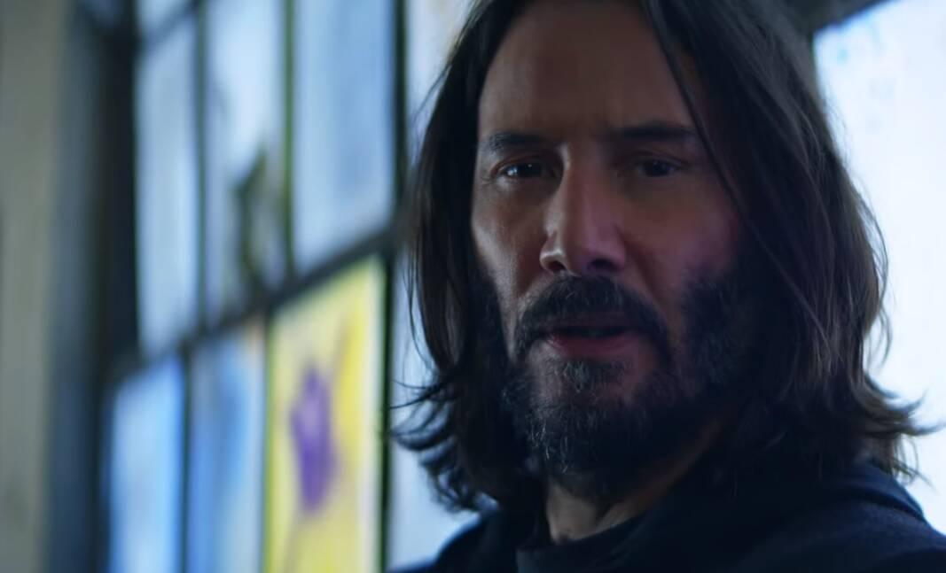 """""""Cyberpunk 2077"""" ganha novo trailer com Keanu Reeves"""