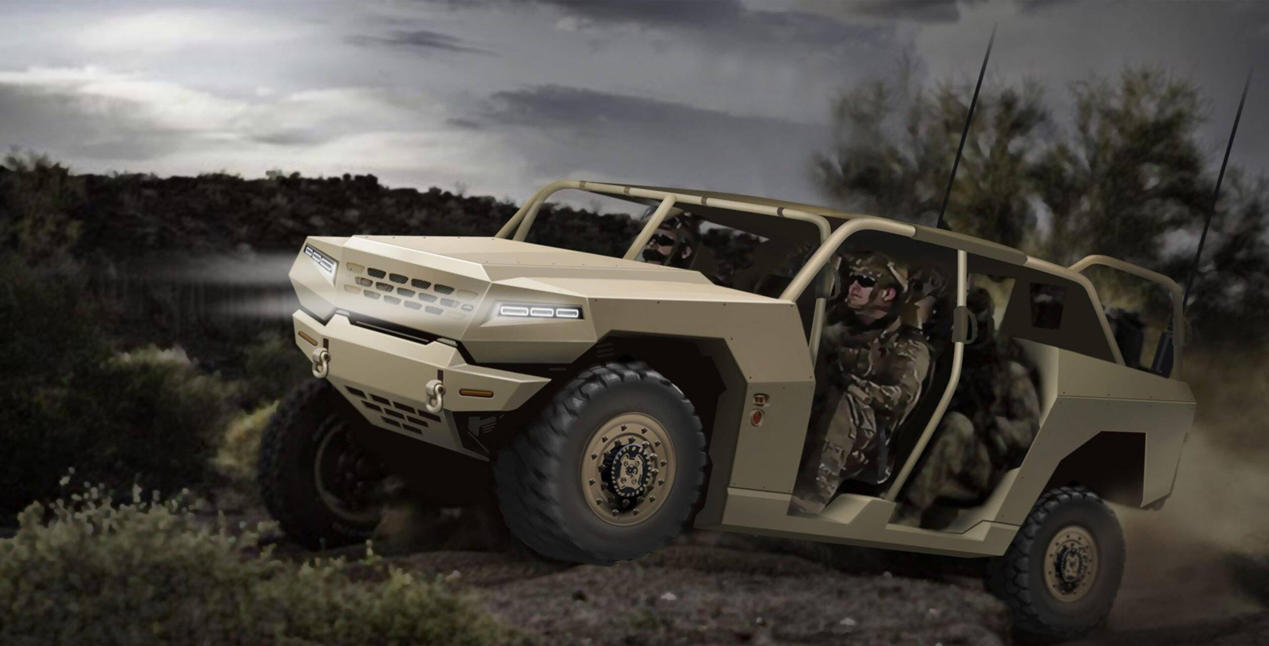 SUV Kia Mojave vai servir de base para 4x4 militar
