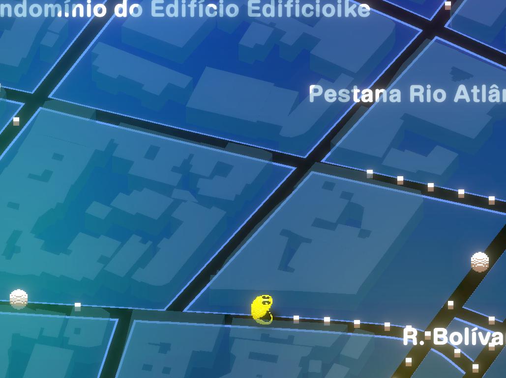 Com mapas reais, Pac-Mac Geo já está disponível para download
