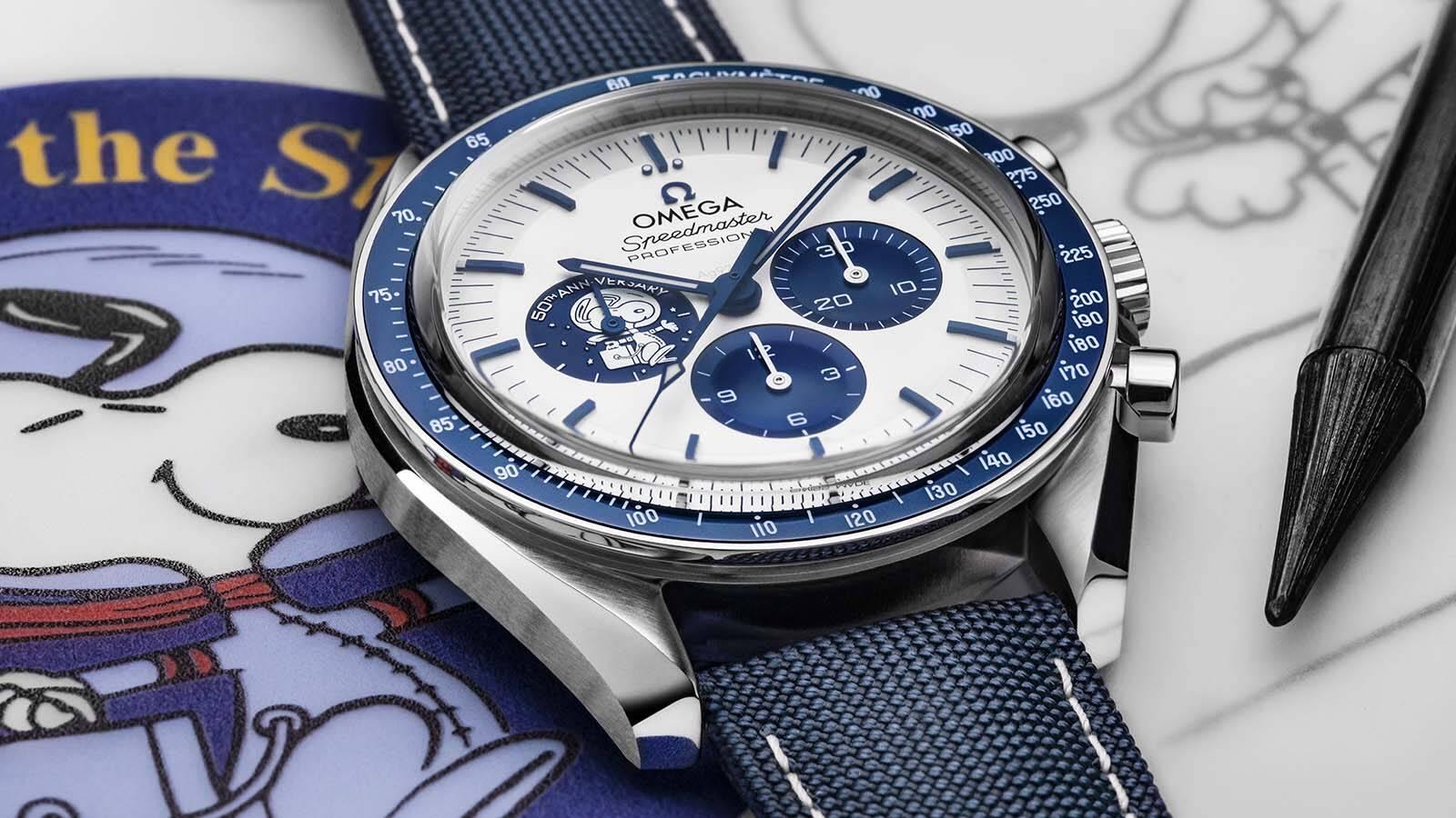 Omega lança relógio para comemorar prêmio da Nasa