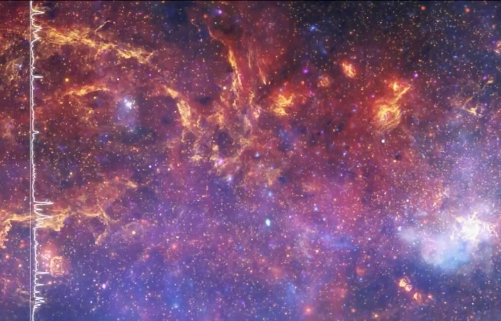 Ouça qual é o som da Via Láctea segundo a Nasa