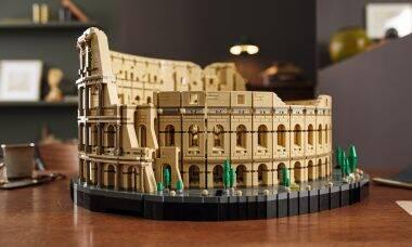 Coliseu de Roma vira o maior kit de Lego já lançado