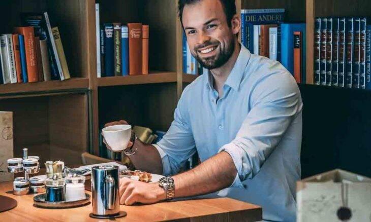 Influenciador Maximilian Herd é referência no setor digital. Foto: Divulgação