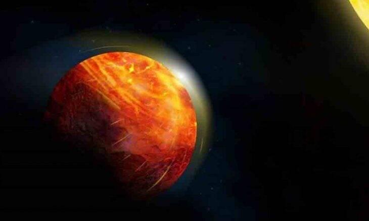 Planeta do tamanho da Terra, tem ventos supersônicos e chuva de lava derretida