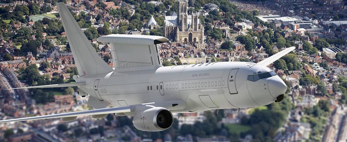 Reino Unido vai usar Boeing 737 transformado em avião-radar