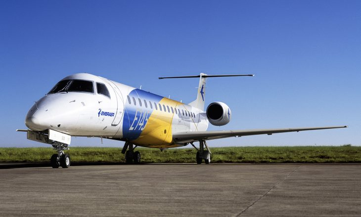 Jatos Embraer ERJ 145 ganham ar-condicionado capaz de deter vírus e bactérias