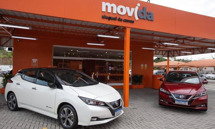 Nissan fornece elétrico Leaf para a frota da Movida