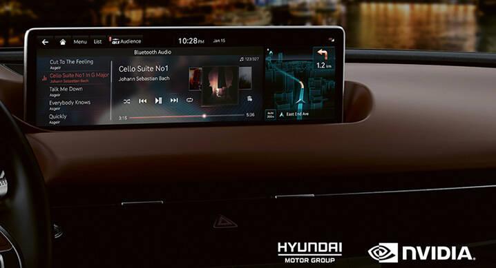 Novos Hyundai e Kia terão centrais multimídia da Nvidia