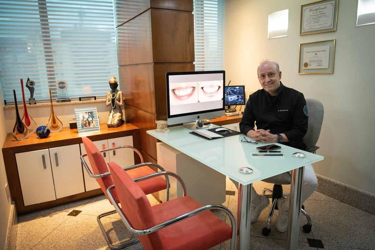 Famoso dentista José Arbex Filho está revolucionando a odontologia com o uso da tecnologia. Foto: Divulgação